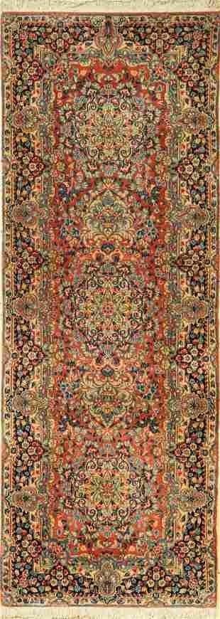 Kirman fine (signed) Rug, Persia, approx. 50 years,
