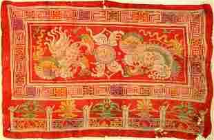 Antique felt, Tibet ,East Turkestan, 19th century