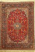 Fine Isfahan rug old, Persia, approx. 50 years, wool