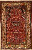 Fine Kashan rug old Persia around 1930 wool