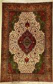 Tabriz Carpet, Persia, approx. 50 years, wool on cotton