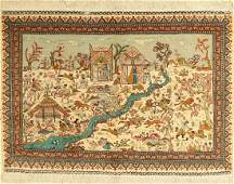 Seiden Kaisery rug, Turkey, approx. 40 years, pure