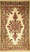 Kirman rug Persia approx 50 years wool on cotton