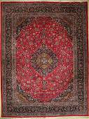 Kashmar carpet old, Persia, approx. 50 years, wool on