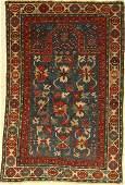 Rare Karabagh prayer rug antique Caucasus 19th