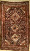 Antique Gashgai rug, Persia, around 1900, woolon wool