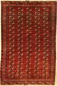 Tekke Bochara main carpet, antique