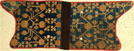 Antique Khotan saddle 'Fragment', (published) East