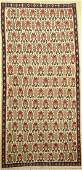 Senneh Kilim old Persia approx 60 years wool on