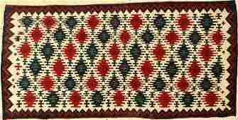 Shahsavan mafrash panel, antique, Persia, 19thcentury
