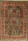 Kirman carpet old Persia approx 40 years wool on