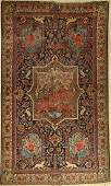 Tabriz rug old, Persia, around 1940, wool on cotton