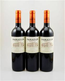 3 bottles of 2005 Parador Reserva Bodegas Julian