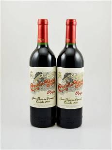 2 bottles of 2001 Marques de Murrieta Castillo Ygay