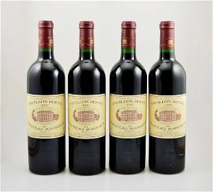 4 bottles of 2000er Chateau Pavillon Rouge du Chateau