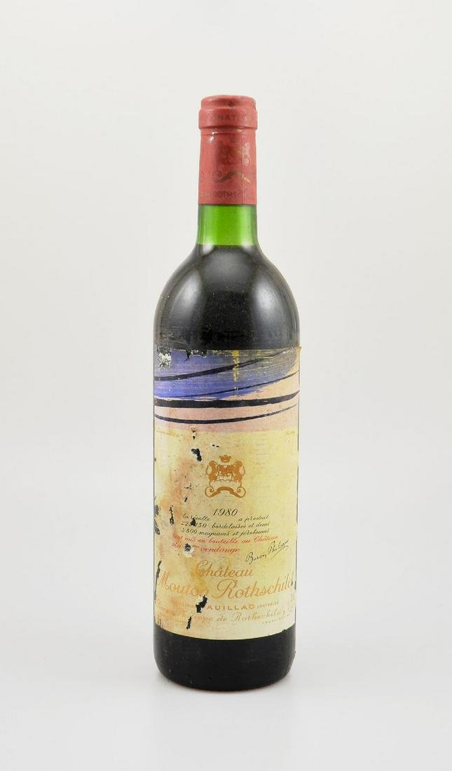 1 bottle 1980 Chateau Mouton Rothschild,