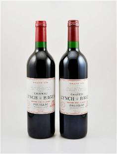 2 bottles of 1997 Chateau Lynch Bages