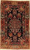 Kerman Lawar Rug antique Persia around 1910 wool on