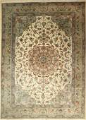 Tabriz fine 'Part-Silk' Carpet, (50 RAJ), Persia