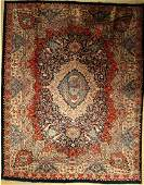 Kashmar Carpet, Persia, approx. 50 years, wool on