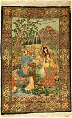 Fine Tabriz old Rug, tapestry, Persia, approx. 50 years