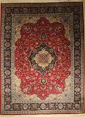 Tabriz fine Carpet, Persia, approx. 50 years, wool