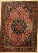 Tabriz carpet old Persia around 1920 wool on cotton