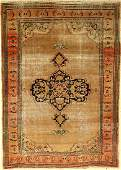 Doroshk Rug Persia around 1890 wool on cotton