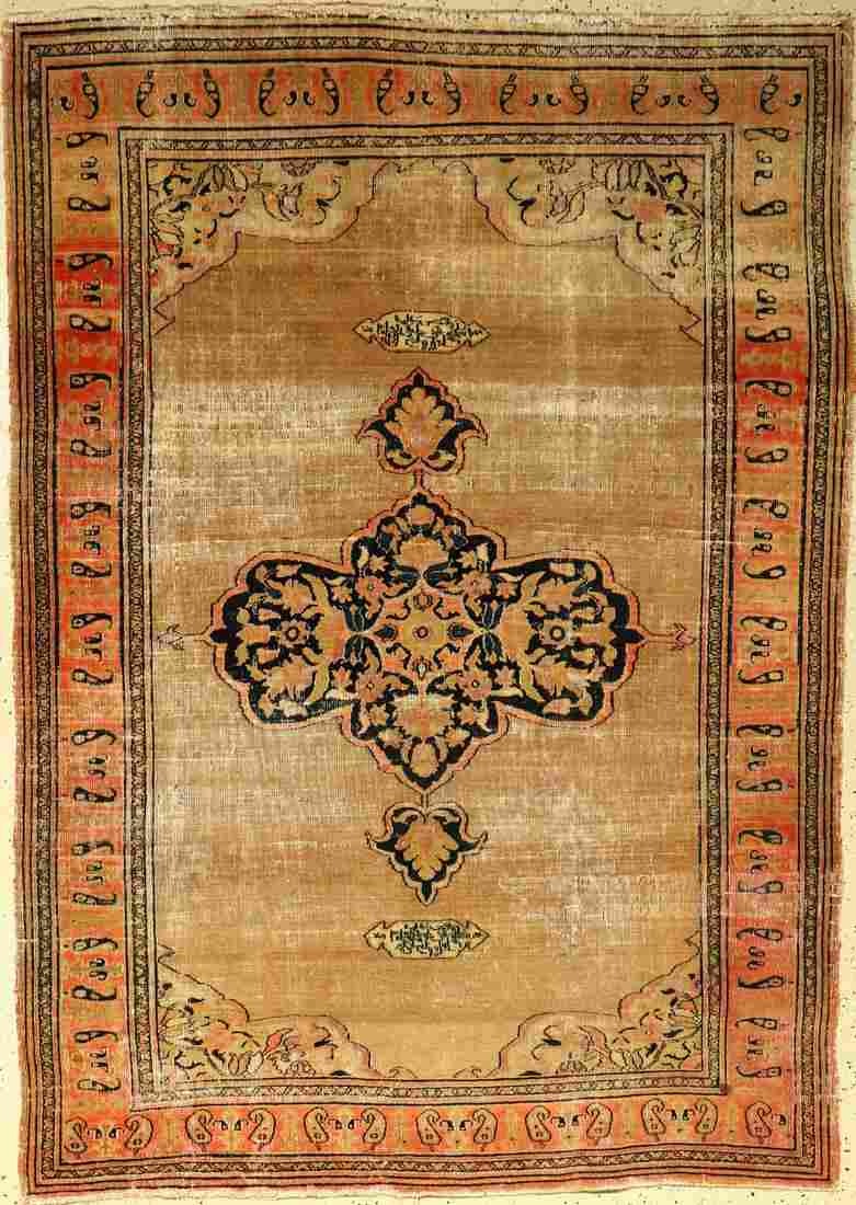 Doroshk Rug, Persia, around 1890, wool on cotton