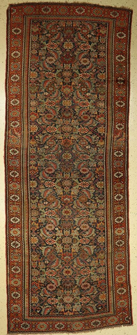 Antique Kurdish Runner, Persia, around 1900, wool on