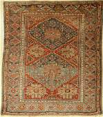 Antique sumakh Caucasus late 19th century wool on