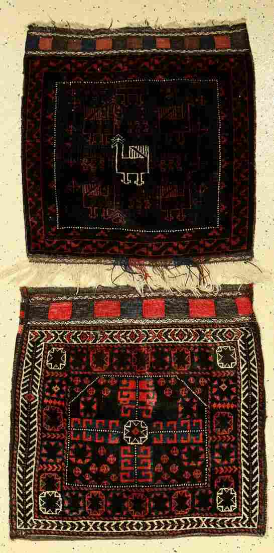 (2 lots) Baluch's Persia, bag and bagface, around
