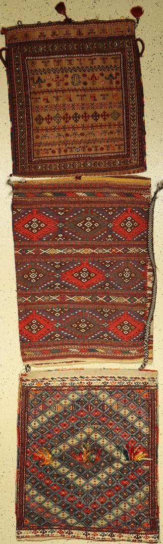 (3 lots) , Bergama Balisht um 1900 106x80cm, Malatya