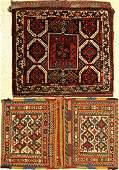 (2 lots), 1 x Khamseh bag around 1920 64x54cm. Sumakh
