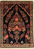 Fine Kaschan rug old, Central Persia, around 1930, wool