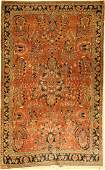 Saruk rug old, Persia, approx. 60 years, wool on cotton
