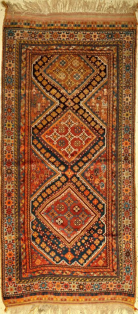 Qashqai old rug, Persia, around 1930, wool on wool