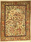 Tabriz old rug, Persia, approx. 50 years, wool on