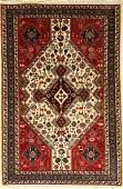 Bidjar old carpet, Persia, approx. 60 years, wool on