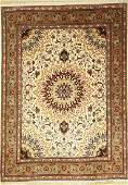 Tabriz rug fine Persia approx 40 years wool with