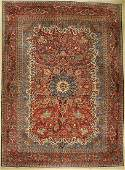 Esfahan fine carpet Persia around 1920 wool on