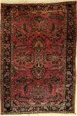 Saruk antique Rug US reimport Persia around 1900