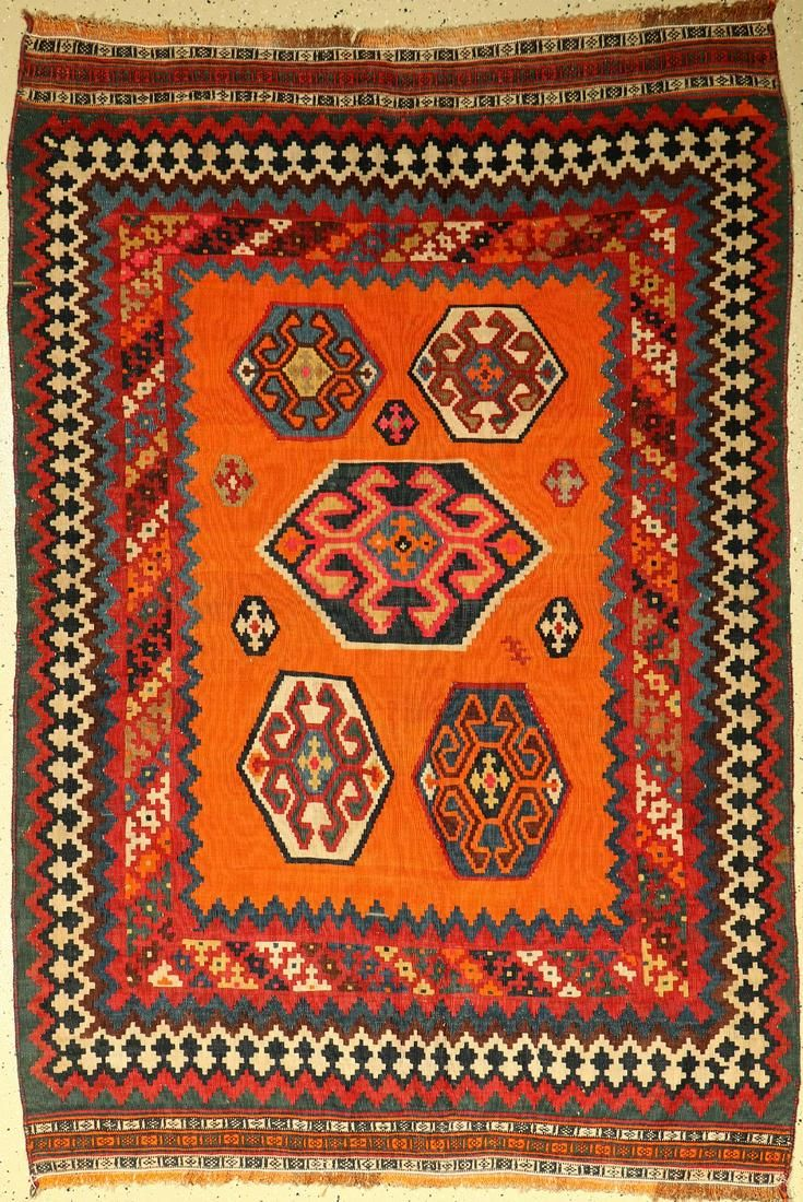 Qashqai Kelim, Persia, around 1940, wool on wool