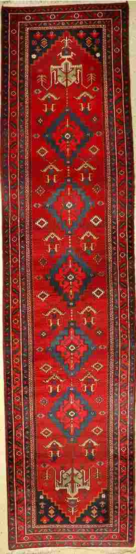 Northwest runner, Persia, approx. 60 years, wool on