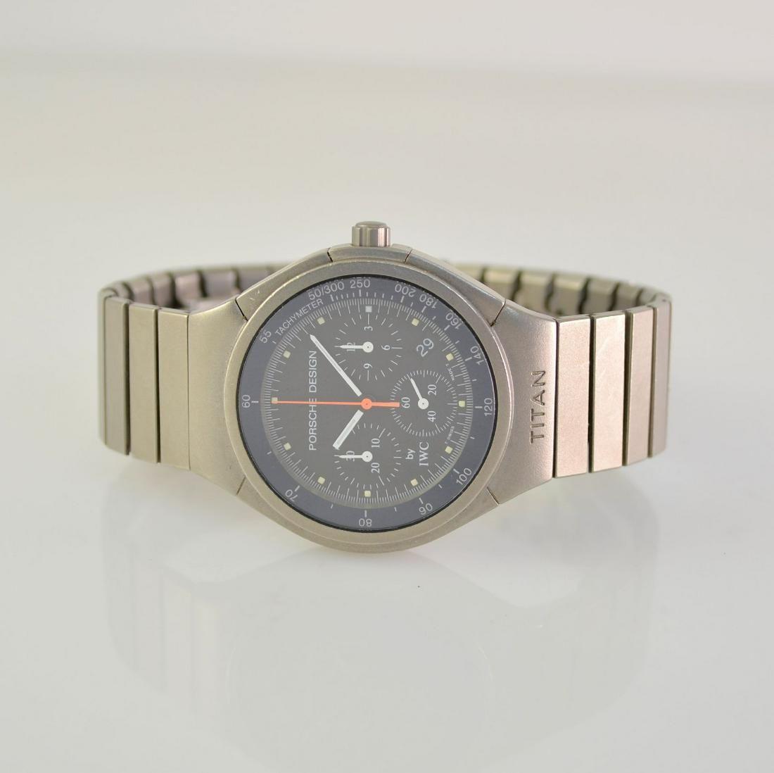 PORSCHE DESIGN by IWC gents wristwatch with chronograph