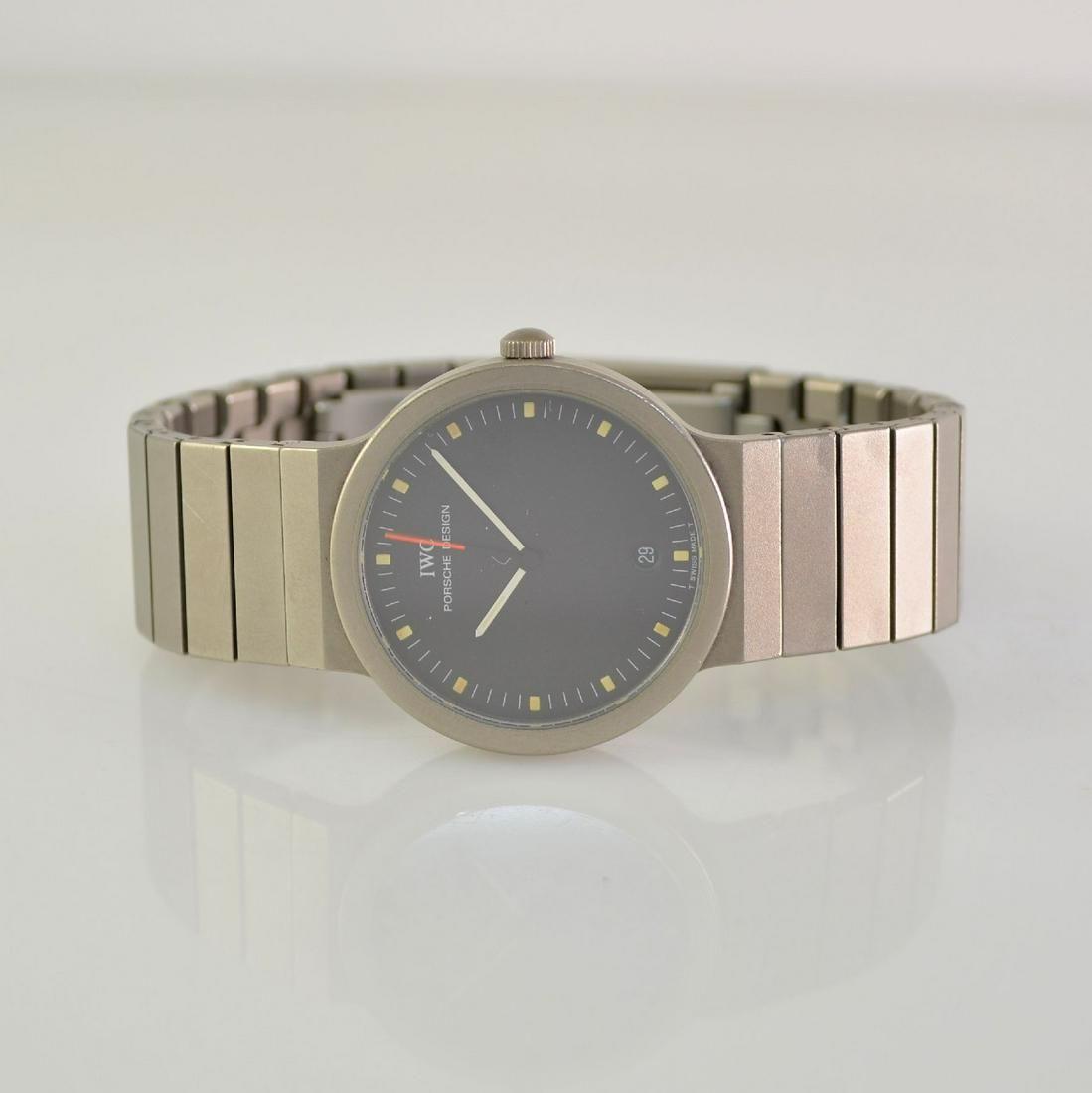 IWC Porsche Design wristwatch in titanium
