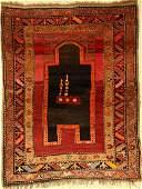Karabagh prayer rug old, Caucasus, around 1930, wool