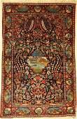 Keschan cork old Persia around 1930 cork wool