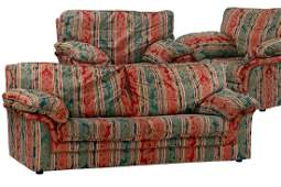 3-seater sofa and 2 armchairs