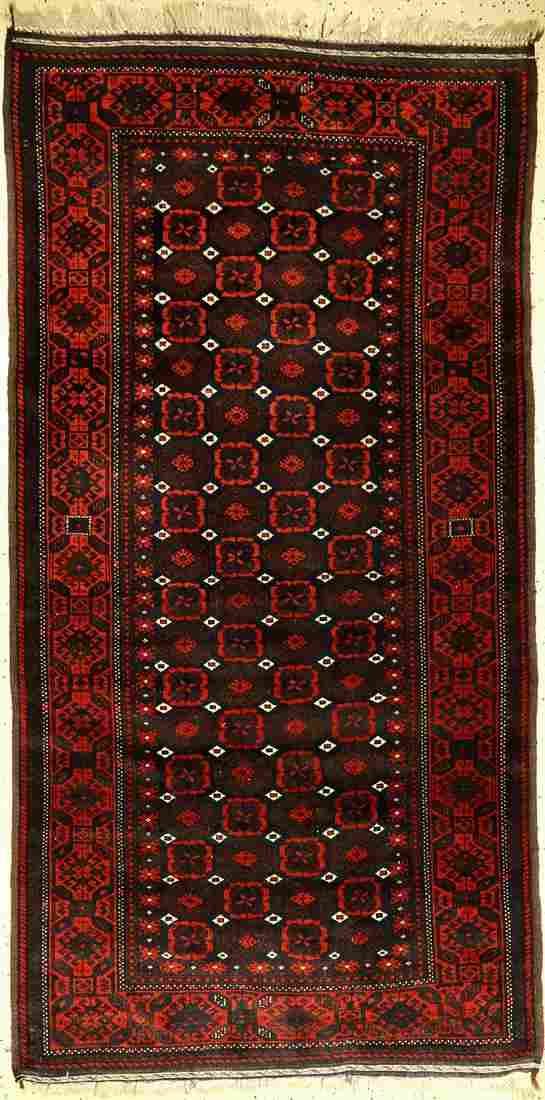 Fine Baluch old, Persia, around 1920, wool on wool